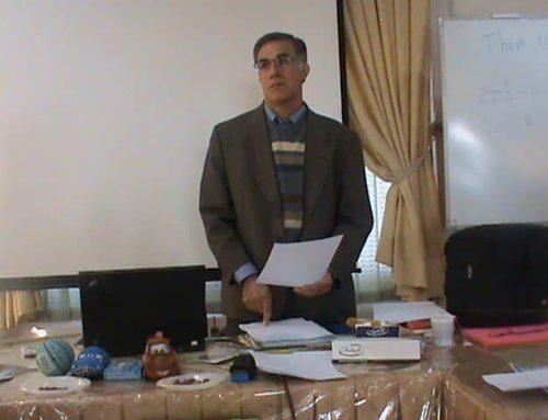 دیدار با آقای دکتر علی صاحبی موسس مرکز آموزش واقعیتدرمانی در ایران