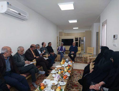 جلسه مشترک اعضای بنیاد حضرت علی با خیریه های کاشان